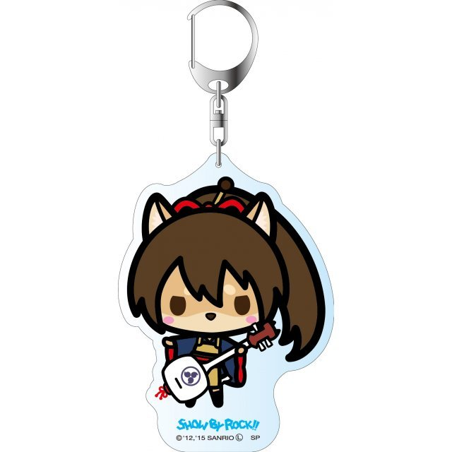Show by Rock!! Deka Key Chain Simple Design Ver.: A