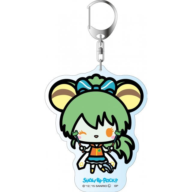 Show by Rock!! Deka Key Chain Simple Design Ver.: Jacqueline