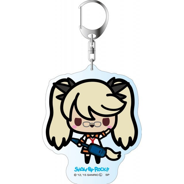 Show by Rock!! Deka Key Chain Simple Design Ver.: Retoree