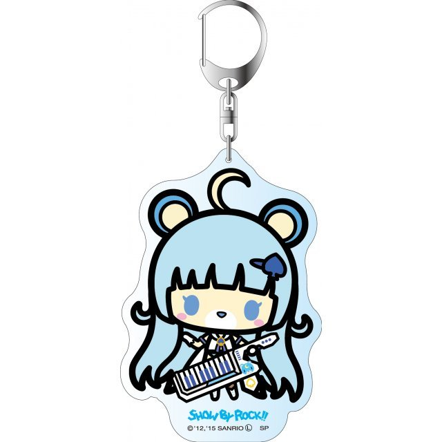 Show by Rock!! Deka Key Chain Simple Design Ver.: Tsukino