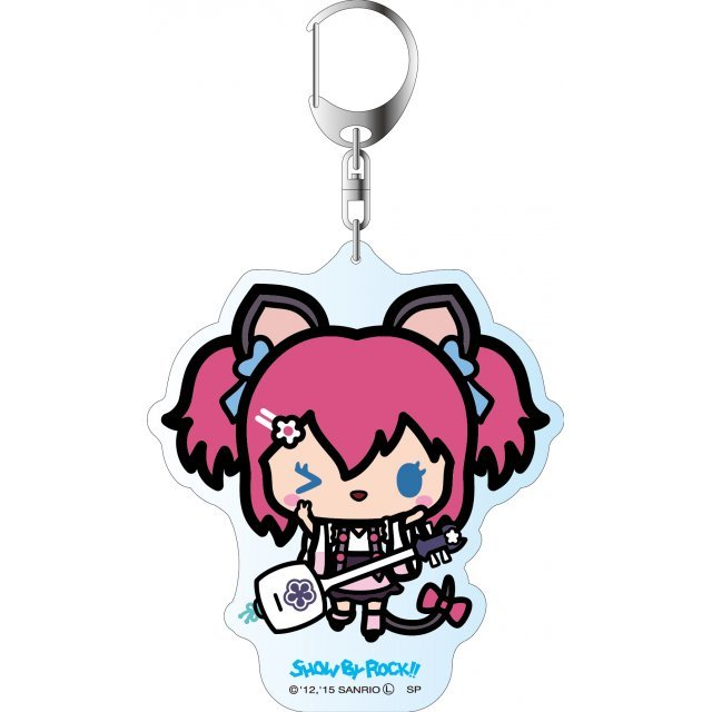 Show by Rock!! Deka Key Chain Simple Design Ver.: Un