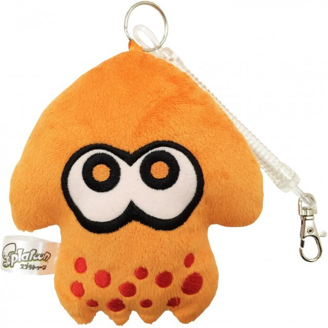 Splatoon Diecut Pass Case Orange