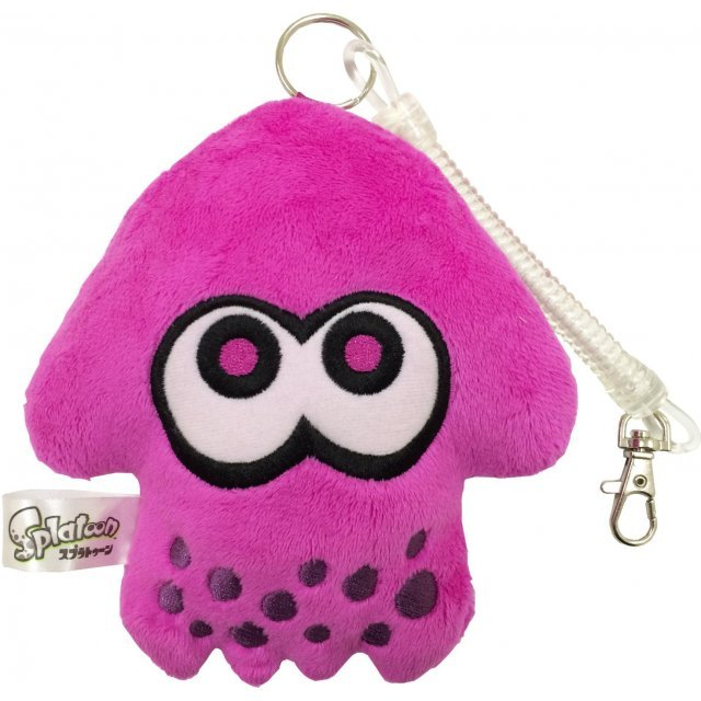 Splatoon Diecut Pass Case Purple