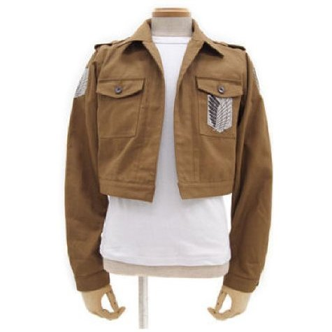 Attack on Titan Corps Jacket Short Ver. S