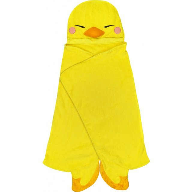 Final Fantasy XIV Hooded Blanket: Fat Chocobo