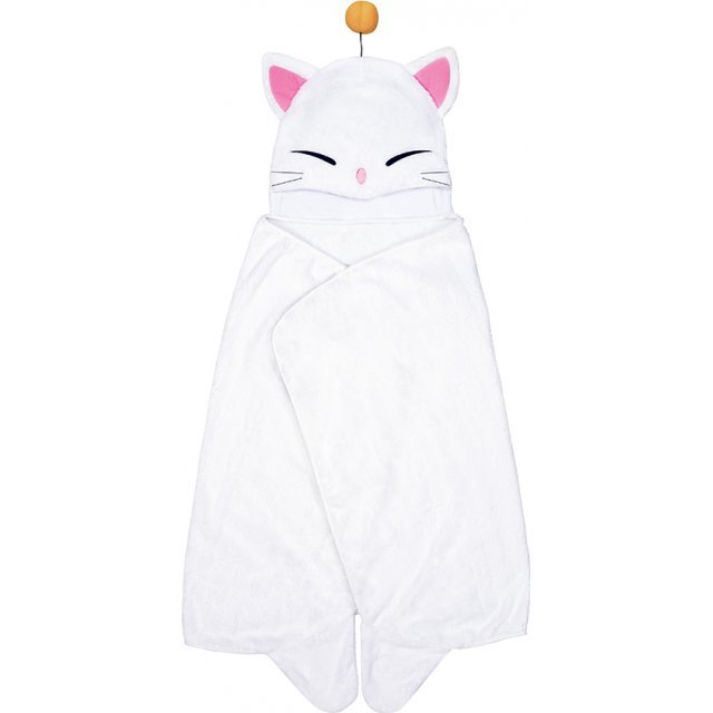 Final Fantasy XIV Hooded Blanket: Moogle