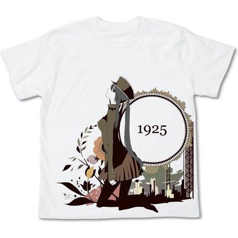 Hatsune Miku 1925 T-shirt White L (Re-run)