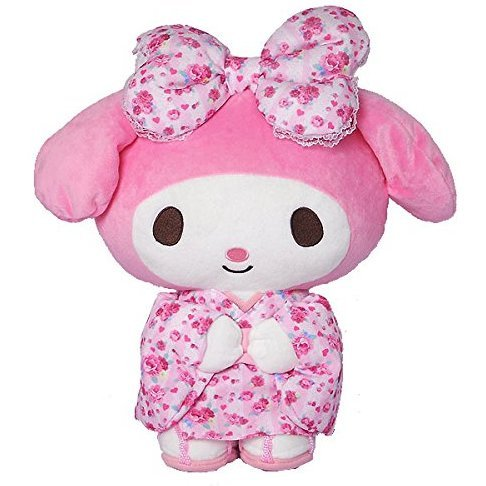 My Melody Standing Plush Pink M: Kawaii Pajamas
