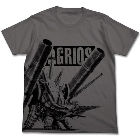 Phantasy Star Nova Agrios T-Shirt Medium Gray L (Re-run)