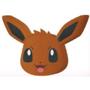 Pokemon XY & Z Rounded Big Cushion: Eevee Normal Ver.