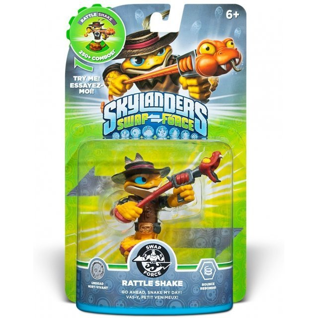 Skylanders Swap Force Character Pack: Rattle Shake