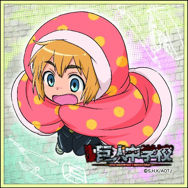 Attack on Titan Junior High Microfiber Handkerchief: Armin