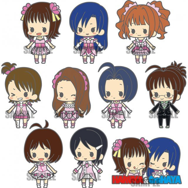 Rubber Strap Collection The Idolmaster: Stage 1 Renewal Ver. (Set of 10 pieces)