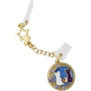 Sailor Moon Charm Charapin Double Plug Type: Luna & Artemis