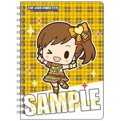 The Idolmaster Ring Notebook B6 W: Futami Mami Mini Chara Ver.