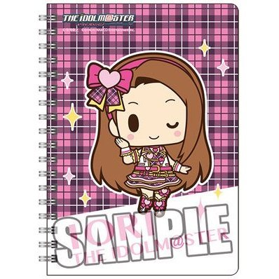 The Idolmaster Ring Notebook B6 W: Minase Iori Mini Chara Ver.