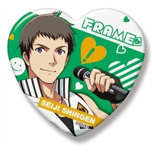 The Idolmaster SideM Heart Can Badge: Shingen Seiji