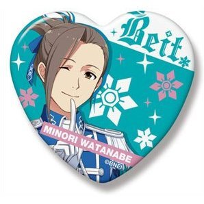 The Idolmaster SideM Heart Can Badge: Watanabe Minori