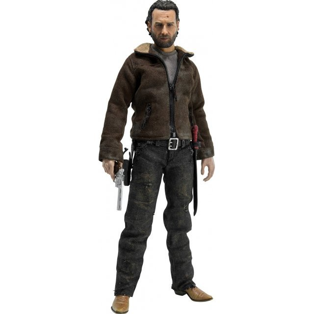 The Walking Dead 1/6 Scale Pre-Painted Action Figure: Rick Grimes