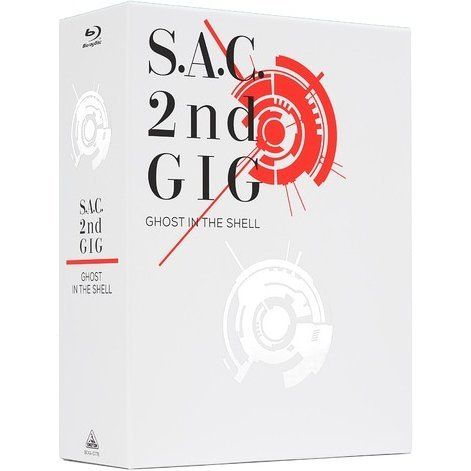 Ghost in the Shell S.a.c. 2nd Gig Blu-ray Disc Box Special Edition [Limited Edition]