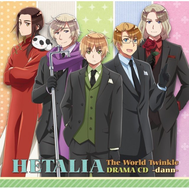 Hetalia The World Twinkle Drama CD Dann