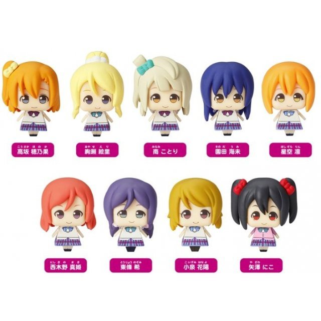 Kurukoro Love Live! Vol. 2 (Set of 9 pieces)