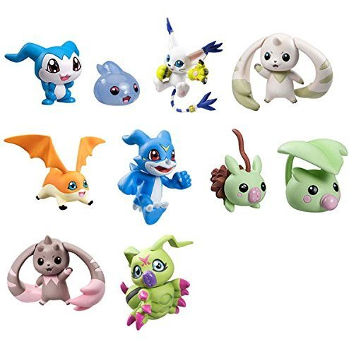 Digimon Adventure Digicolle! Data 3 (Set of 8 pieces)