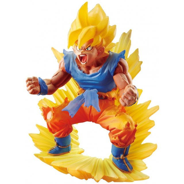 Dracap Memorial 02 Dragon Ball Super Pre-Painted PVC Figure: Saiyan Son Goku