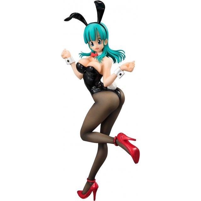 Dragon Ball Gals Dragon Ball Z Pre-Painted PVC Figure: Bulma Bunny Girl Ver.