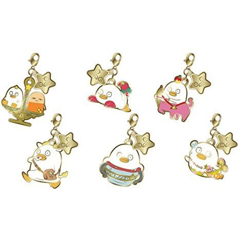 Metal Charm Collection Gintama Elizabeth 12 Horoscope Vol. 2 Saint Elizabeth (Set of 6 pieces)