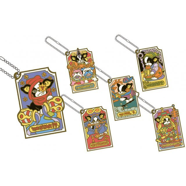 JoJo's Bizarre Adventure Rubber Mascot: Iggy's Bizarre Cosplay Tarot Ver. Joestar Party (Set of 6 pieces)