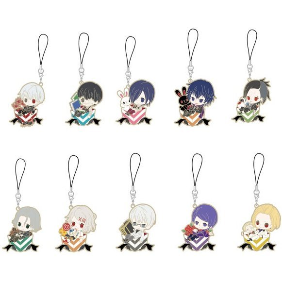 Tokyo Ghoul Rubber Strap Charapre Ver. (Set of 10 pieces) (Re-run)