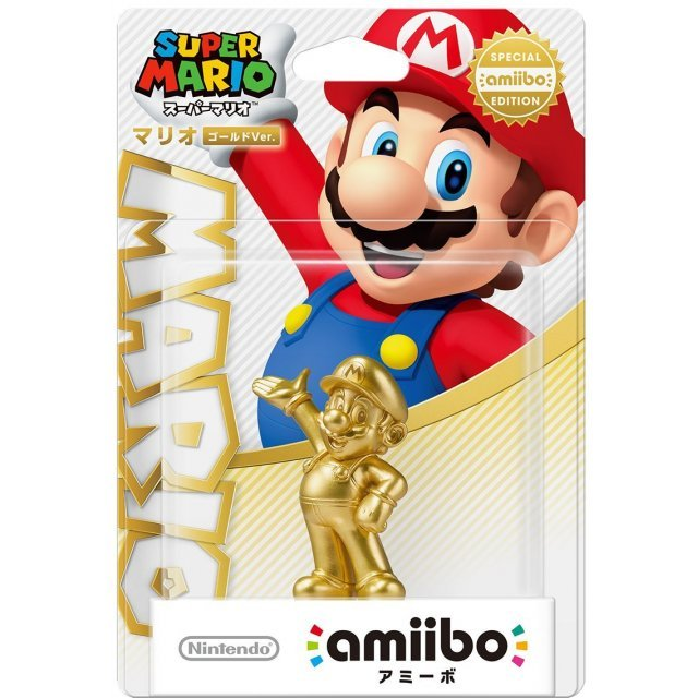 amiibo Super Mario Series Figure (Mario Gold Ver.)