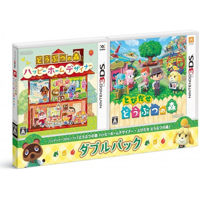Doubutsu no Mori: Happy Home Designer & Tobidase Doubutsu no Mori [Double Pack]