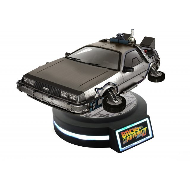 Back to the Future Part II 1/20 Scale Figure: Magnetic Floating DeLorean Time Machine