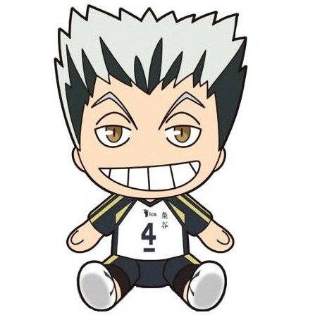 Haikyu!! Deformed Plush: Bokuto