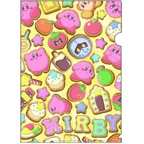 Kirby's Dream Land Clear File: Icing Cookies
