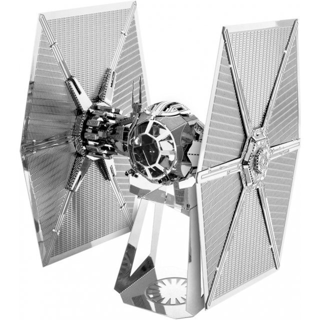 Star Wars The Force Awakens Metallic Nano Puzzle: First Order Special Force TIE Fighter