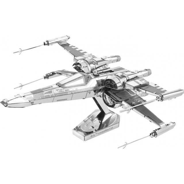 Star Wars The Force Awakens Metallic Nano Puzzle: Poes X-wing Fighter