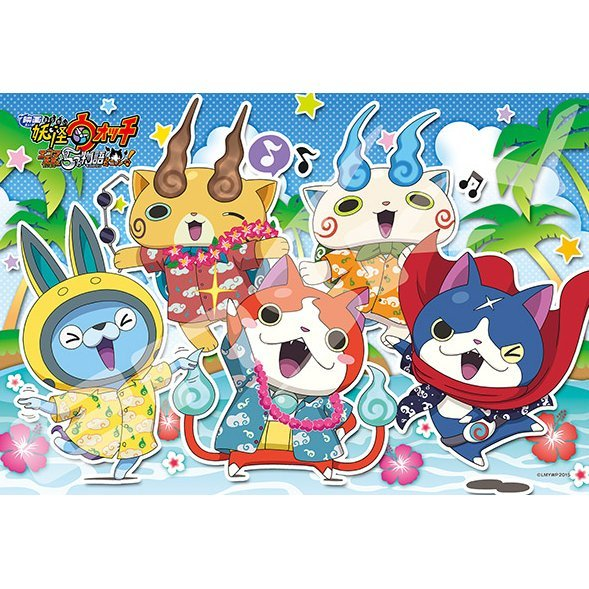 Youkai Watch Movie Enma Daiou to Itsutsu no Monogatari Da Nyan! 108 Large Piece Puzzle Waiha De Vacance (108 Pieces)