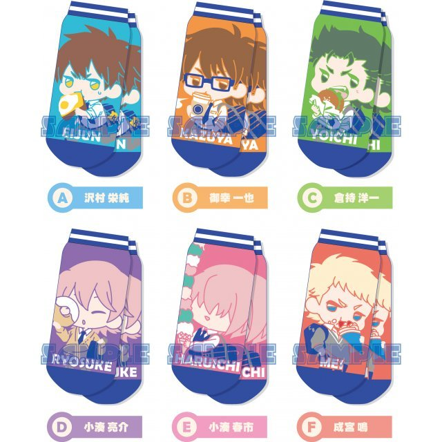 Ace of Diamond Character Socks Collection Vol.2 (Set of 6 pieces)