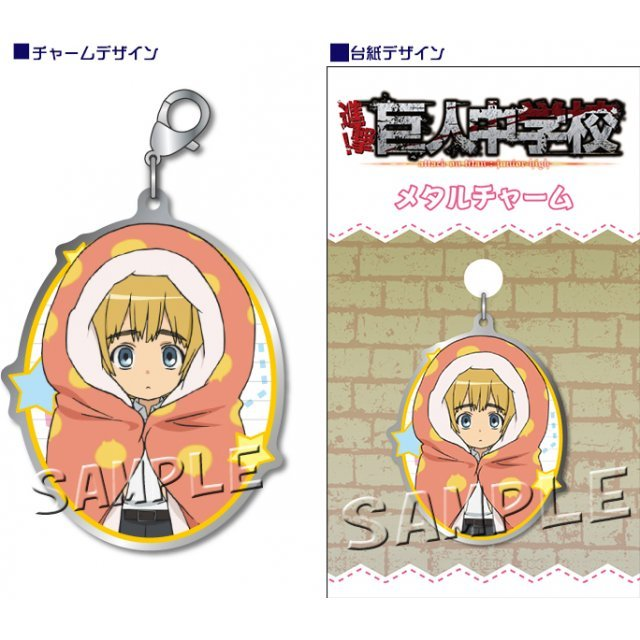 Attack on Titan Junior High Metal Charm: Armin
