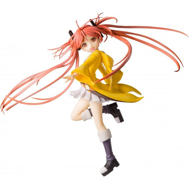 Black Bullet 1/8 Scale Pre-Painted Figure: Aihara Enju