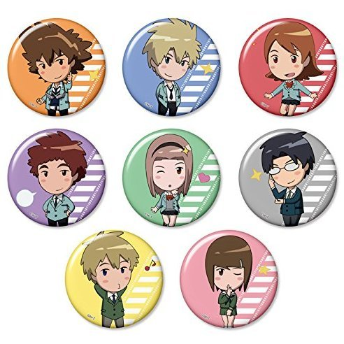 Digimon Adventure Tri Trading Can Badge Vol.1 (Set of 8 pieces)