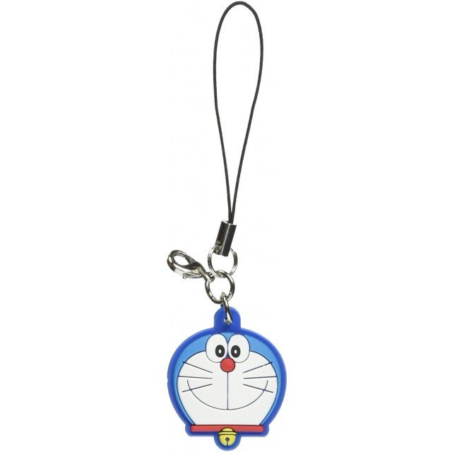 Doraemon Rubber Fastener Charm: Face Normal