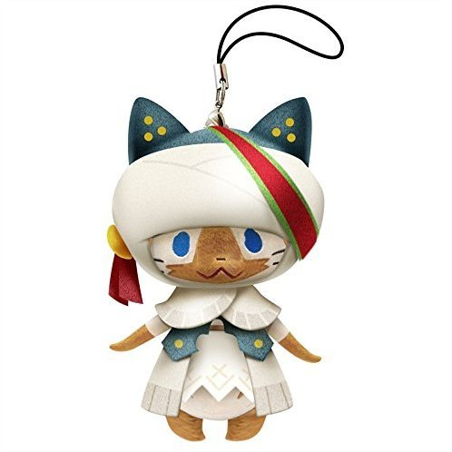 Monster Hunter X Monster Mini Mascot Plush: Werder Neko
