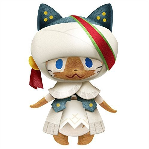 Monster Hunter X Monster Plush: Werder Neko