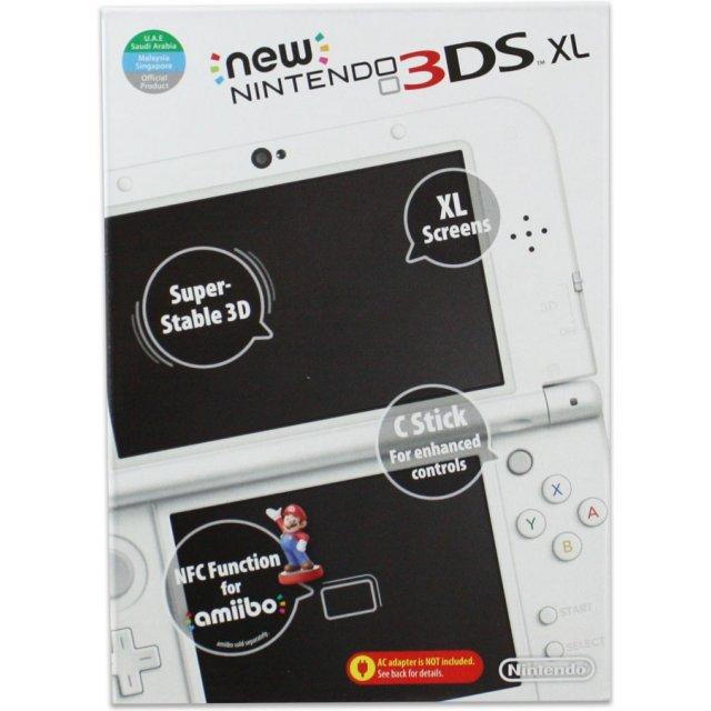 New Nintendo 3DS XL (Pearl White)