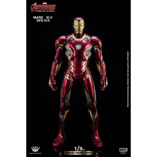 King Arts Avengers Age of Ultron 1/9 Diecast Figure Series: Iron Man Mark XLV