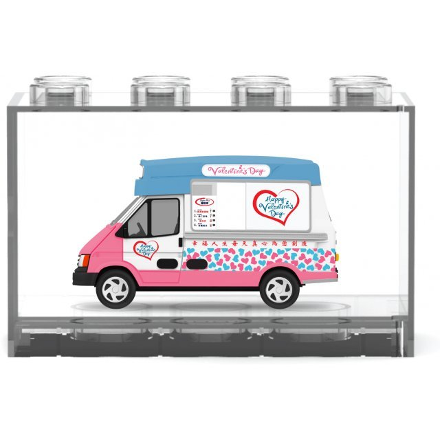 Hong Kong Valentine's Day Ice Cream Truck [Limited Edition Blue]